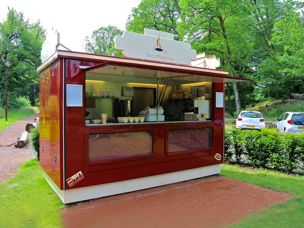 Bean Machine coffee bar demountable catering kiosk